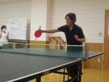 職員対抗卓球大会!