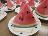 夏の果実の王様、すいか♪